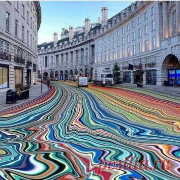 Фантазийные проекты британского абстрактного художника Ian Davenport