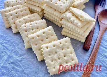 Сама испекла печенье, а мне говорят, что купила в магазине: оно галетное | ВсегдаГотово! | Яндекс Дзен