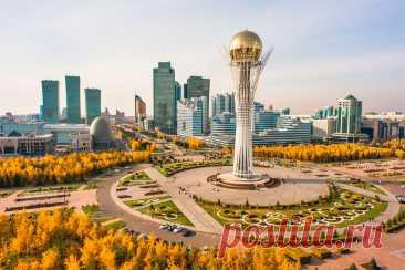 Казахстан:Достопримечательности современной столицы Нур-Султан (Астана)!