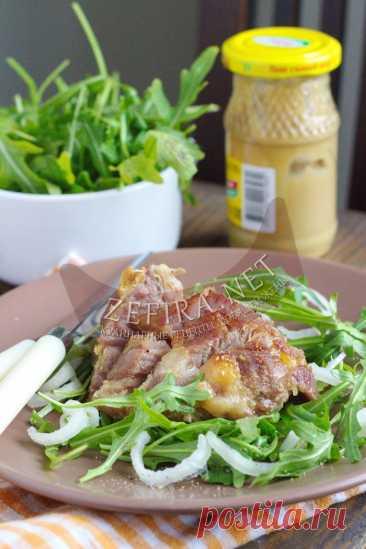 Сочная свинина, запеченная в духовке с горчицей — Кулинарные рецепты любящей жены