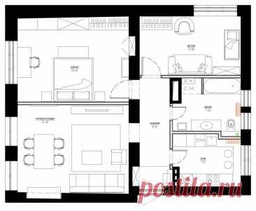 Houzz тур: Квартира с видом на Шуховскую башню | Houzz Россия