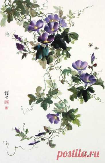 (2) Цветы в изобразительном искусстве - Leżę pod gruszą — ЖЖ