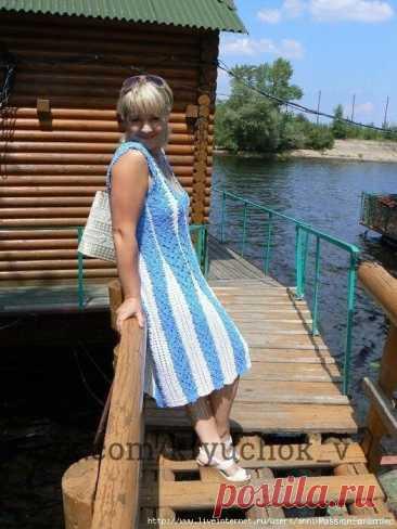 Платье ленточным кружевом в двух цветах