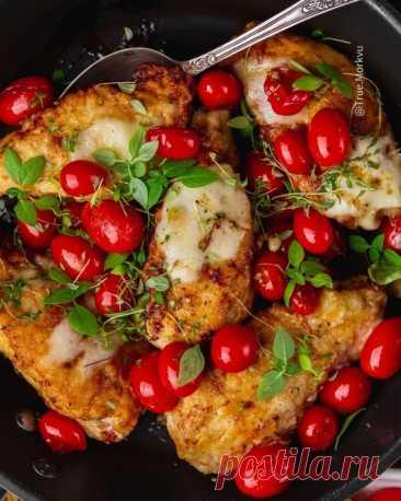 Куриные грудки по-флорентийски
