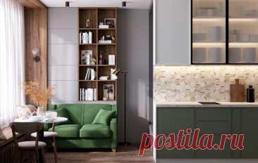 Дизайн крошечной студии 28 м² для молодоженов — INMYROOM