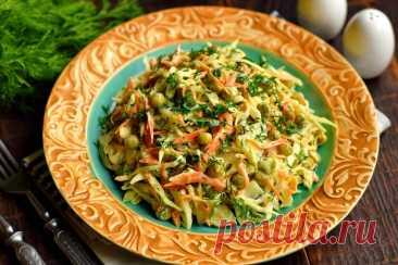 """Салат """"Овощное раздолье"""" - вкусное полезное блюдо"""