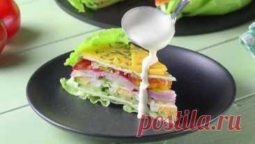 #Очень #простой #и #вкусный #салат