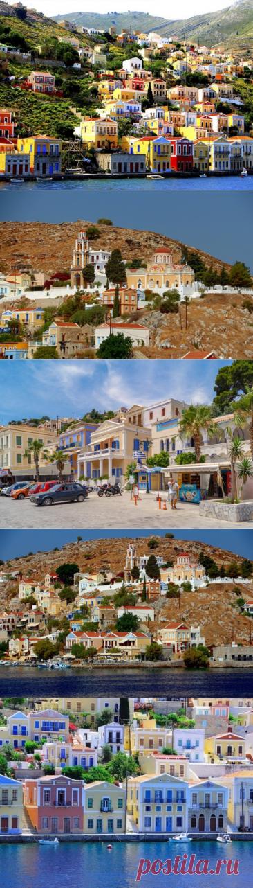 Яркий греческий остров Сими
