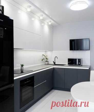 Ничего лишенго: черно-белая кухня!