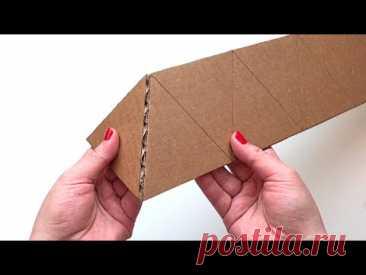 5 идея из картона своими руками