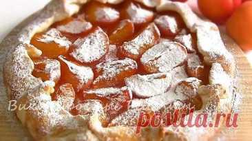 Самый Лучший ПРОСТОЙ Пирог/ ГАЛЕТА с фруктами