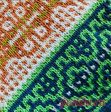 Ленивый жаккард. Приёмы художественного вязания. Замена цвета   Mария Mоскалева   Яндекс Дзен