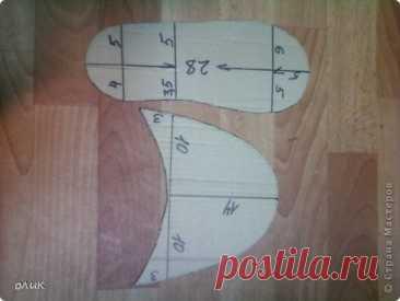 Мастер-класс Шитьё Домашние тапочки для себя и для гостей Кожа Мех Ткань фото 2
