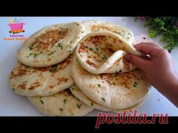 Турецкий хлеб: самый вкусный и легкий хлеб, который вы можете приготовить! Никакой духовки!