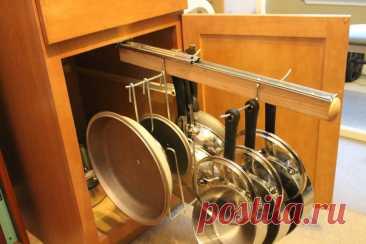 выдвижной рейлинг для сковородок и кастрюль: 1 тыс изображений найдено в Яндекс.Картинках