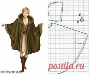 Моделирование пончо-пальто с капюшоном Моделирование пончо-пальто с капюшоном это подготовка к весне заранее, чтобы быть во... Читай дальше на сайте. Жми подробнее ➡