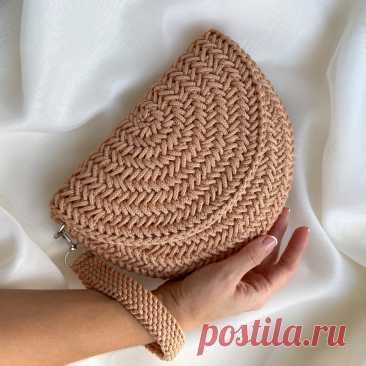 Сумка «Дилайла» из полиэфирного шнура. Мастер-класс - behet handmade