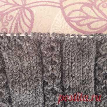 Мужской свитер спицами. Часть № 4 | SVG Вязание спицами и крючком | Яндекс Дзен