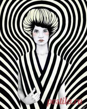 Гипнотические портреты. Sofia Bonati - Художники, фотографы и скульпторы со всего света