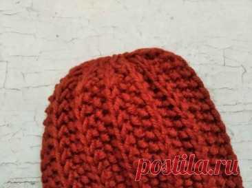Готовимся к холодной зиме. Вяжем зимнюю шапку спицами » «Хомяк55» - всё о вязании спицами и крючком