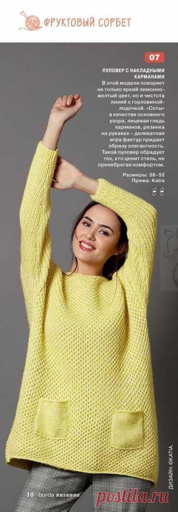 Идеи вязаных женских вещей из журнала BURDA Вязание №1 2021 | Факультет рукоделия | Яндекс Дзен
