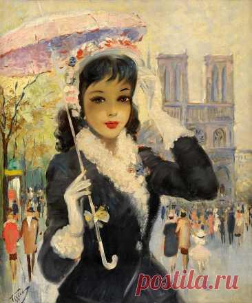 Парижанки   Eugene Tissot