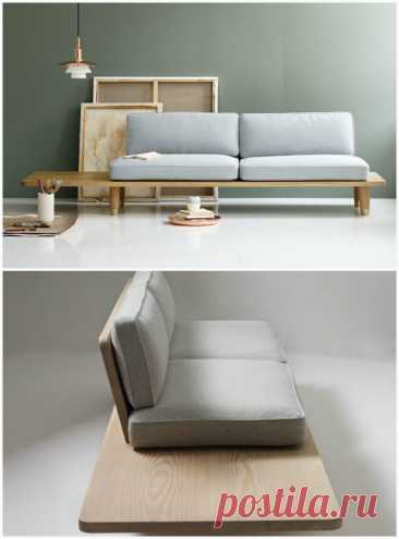 17 stylish and original sofas which it is possible to make with own hands