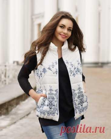 Выкройка жилетки размеры 44-50 россия (Шитье и крой) – Журнал Вдохновение Рукодельницы