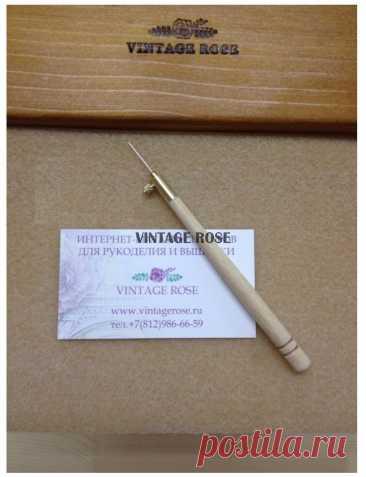 Магазин Кутюрной вышивки Vintage Rose - Люневильский крючок с 70 иглой бренда Vintage Rose