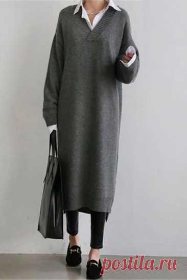 Топ-10 платьев оверсайз, которые можно сшить самостоятельно