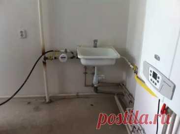 Кухня: спрятали трубы, газовый счетчик и котел - Самоделкино - медиаплатформа МирТесен
