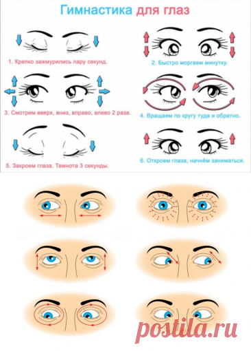 How to restore sight in house conditions