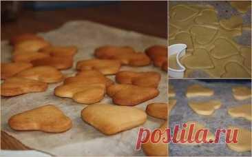 Бисквитное печенье для малышей – нежное, рассыпчатое и очень вкусное!