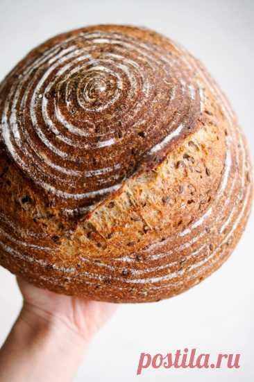 Цельнозерновой с льняными семечками — chefbaker