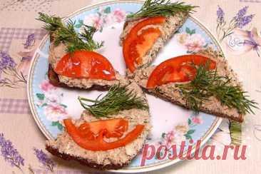 Намазка на бутерброды из шпрот | Вкусные кулинарные рецепты