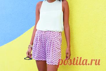 Шьем летние шорты с карманами (Шитье и крой) – Журнал Вдохновение Рукодельницы