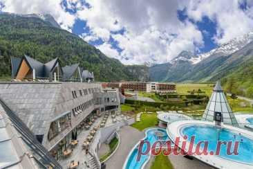 Необычный банный комплекс в Австрии