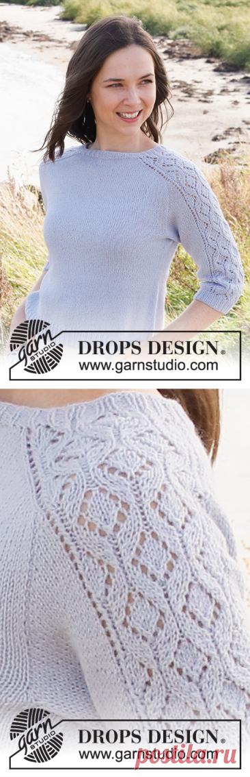 Джемпер Dancing Diamonds - блог экспертов интернет-магазина пряжи 5motkov.ru