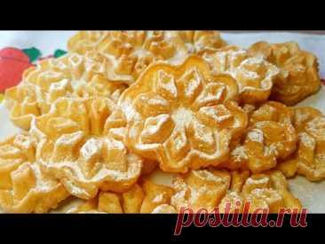 Печенье ХВОРОСТ из жидкого теста