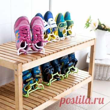 Новинка 10 шт./компл. многофункциональная полка сушилка стойка для обуви вешалка для детской обуви подвесной органайзер для хранения гардероба Полки и органайзеры для обуви    АлиЭкспресс