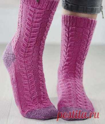 Вязаные носки «Calliper» | ВЯЗАНЫЕ НОСКИ