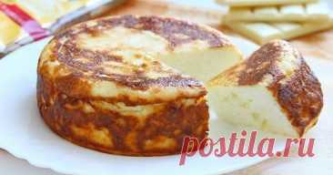 White chocolate cottage cheese casserole