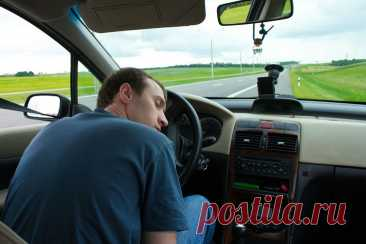 Как не уснуть за рулём в дальней поездке