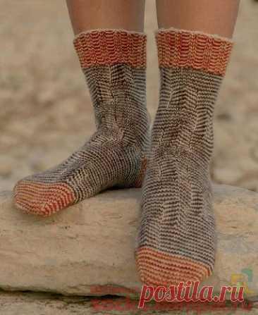 Вязаные носки «Terraform» | ВЯЗАНЫЕ НОСКИ