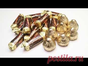 ВЗЯЛА 2 вида конфет и СДЕЛАЛА подарок к 8 Марта Букет