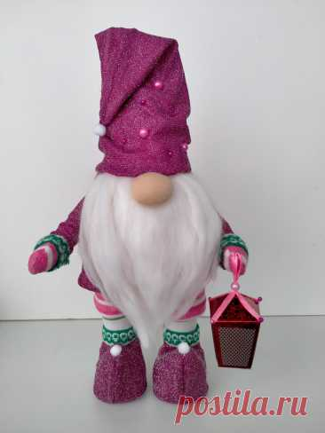Игрушки, куклы гном с фонариком купить у мастера без наценок! - DIY Рукоделие портал о рукоделии от мастеров для мастеров и не только!