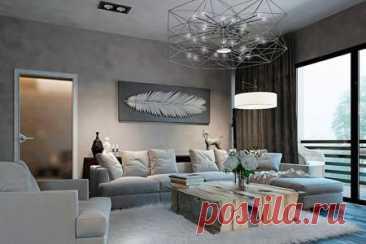 Дизайн гостиной 2021: современные идеи и тренды