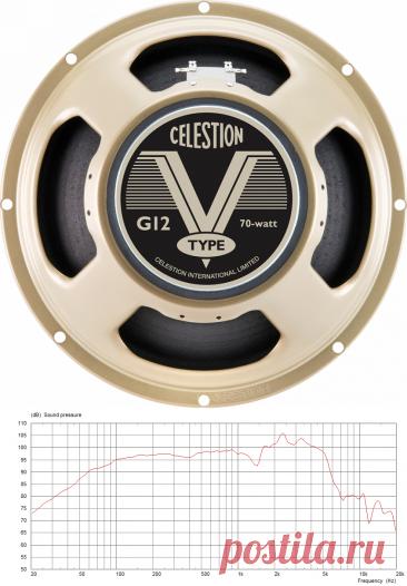 Celestion V-Type - 12 inch 70W Guitar Speaker