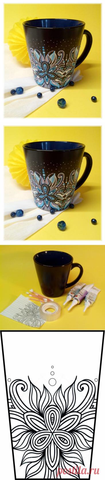 Мастер-класс: роспись чашки контурами Спешу с вами поделиться мастер-классом по росписи чашки. Будет легко и интересно.... Читай дальше на сайте. Жми подробнее ➡