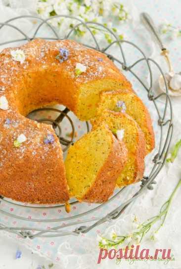 Безглютеновый апельсиново-лимонный кекс с кукурузной крупой - love to bake! — LiveJournal